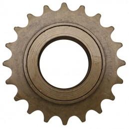 """Roue Libre 1 vitesses  P2R 18 dents Bronze (Pour Chaine 3.30 - 1-2""""X1-8"""" City-Bmx)"""