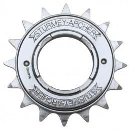 """Roue Libre 1 vitesses  Sunrace 16 dents Argent Chaine 3.30 - 1-2""""X1-8"""""""