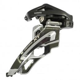 Derailleur Vtt Avant Shimano Xt M8000 3X11 Collier Haut 28.6 À 34.9 Tirage Avant