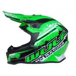 Casque Wulf Off Road Pro - Adulte - Vert