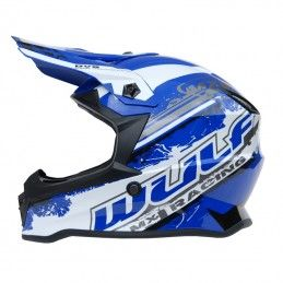Casque Wulf Off Road Pro - Adulte - Bleu