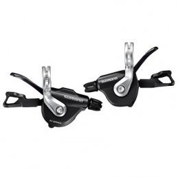 Manette Route P2R Pour Cintre Plat 11V. Push-Pull Compatible Shimano Double (Paire)