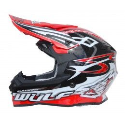 Casque Wulfsport Sceptre - Adulte - Rouge