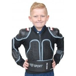 Gilet Wulfsport - Enfant - noir Bmx Race