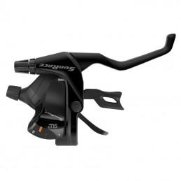 Levier-Manette Vtt Sunrace Stm500 8X3V. Noir Pour Frein V-Brake Compatible Shimano (Paire) Bmx Race