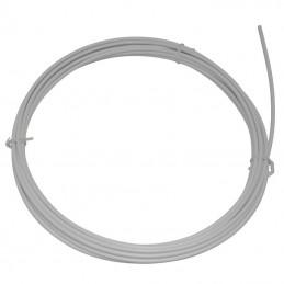 Gaine De Frein Action Blanc Avec Liner Teflon Slr 5Mm (Rouleau De 7