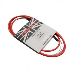 Transmission Derailleur Fibrax Fcg Rouge-Cable Inox Avec Embouts De Gaine (Vendu A L'Unite)
