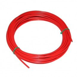 Gaine De Derailleur Fibrax Rouge 4Mm Anti-Compression(Boite De 15M) Avec Liner Teflon