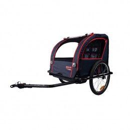 Remorque vélo pour enfants maxi 40 Kg - couverte