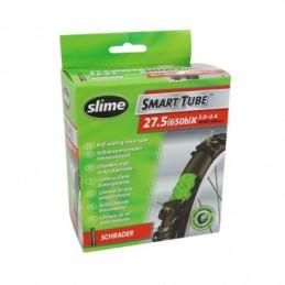 Chambre A Air Vélo 27.5x2.00-2.40 Slime Valve Standard Avec Liquide Anti-Crevaison Bmx Race