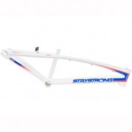 Cadre Stay Strong For Life V2 - White Bmx Race