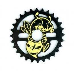 Couronne Total Killabee Black Yellow Bmx Race