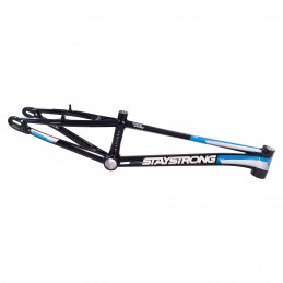 Cadre Stay Strong For Life V3 - Black / Silver / Blue Bmx Race