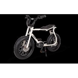 Vélo électrique Lil'Buddy eBike - Blanc Perle Bmx Race