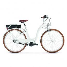 Vélo Electrique Legrand 28'' Femme E-Lille 3 T48 Bafang Central 450WH Blanc/Rose Bmx Race