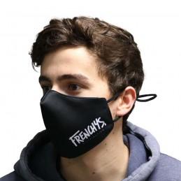 Masque Frenchys Logo Black Bmx Race