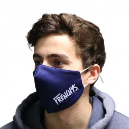 Masque Frenchys Logo Midnight Blue Bmx Race