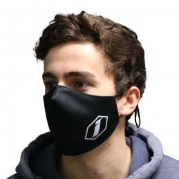 Masque Inspyre Corporate Logo Black Bmx Race