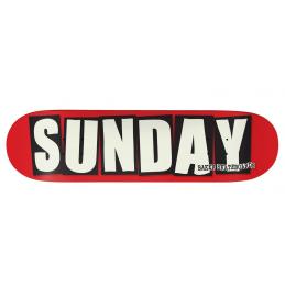 Skatedeck Sunday X Baker Ltd Edition Bmx Race