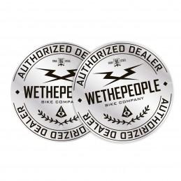 Autocollant Wethepeople Authorized Dealer Bmx Race