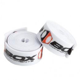 Paire De Sangles De Jante Box Ratian x Blanc 20'' (406mm) x 24mm Bmx Race