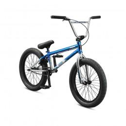 """Démo BMX Freestyle Mongoose® L60 20.5"""" Bleu 2021 Bmx Race"""