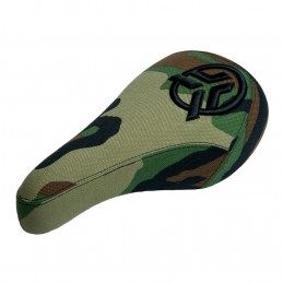 Selle Federal Mid Pivotal Raised Stealth Camo Bmx Race