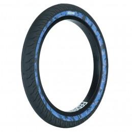 Pneu Federal Command Lp Black With Blue Camo Sidewall Bmx Race