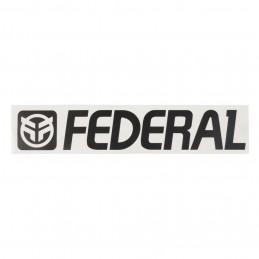 Sticker Federal 170Mm Die Cut - Black Bmx Race