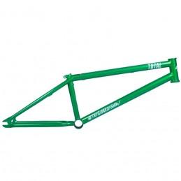 Cadre Total Tws 2 Metallic Green Bmx Race