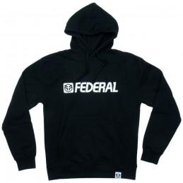Sweat Federal Og Logo Hood Black Bmx Race