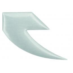 Badge Tall Order Logo Alu Flat Polished Bmx Race
