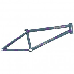 Cadre Federal Perrin V2 Ics Matt Grey/ Purple Bmx Race