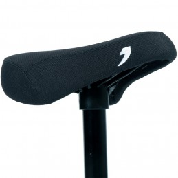 Selle Tall Order Combo - Tige De Selle 200Mm Black W/ White Embroidery Bmx Race