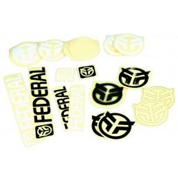 Sticker Pack Federal 18Pcs Bmx Race