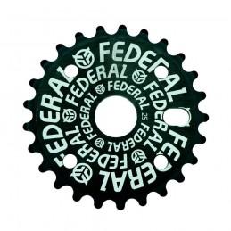 Couronne Federal Logo Solid Black Bmx Race