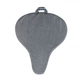 Couvre Selle Velo Basil Gris Clair Waterproof