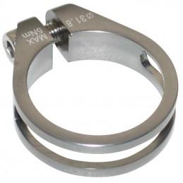 Collier Serrage Tige De Selle Chc Super Light Alu Gris 10G Diam. 31