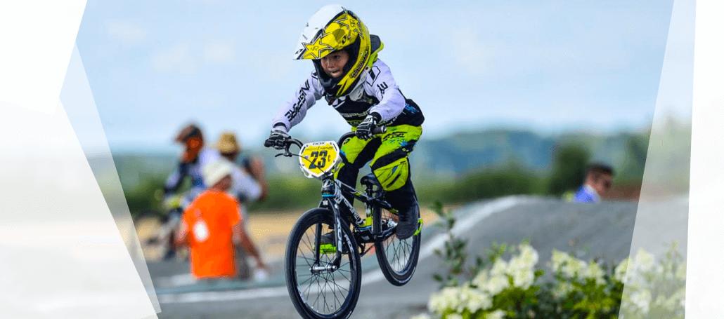 BMX Race débutant amateur enfant