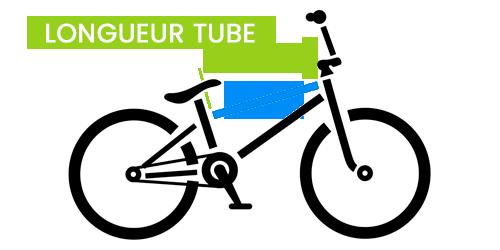 Longueur du tube Bmx Race