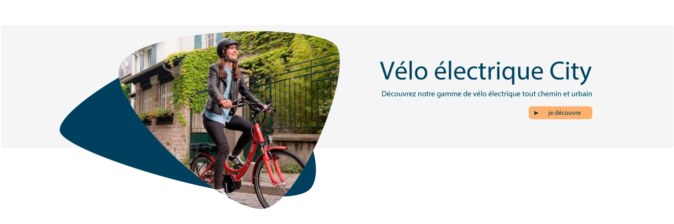 Vélo électrique VTC Urbain